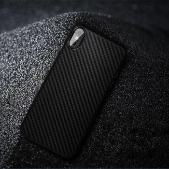 Ультратонкий чехол накладка Carbon Black для iPhone Xs Max