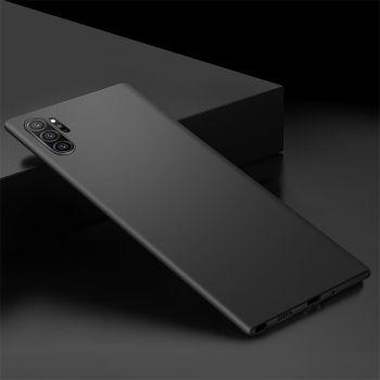 Ультратонкий черный чехол Silk Touch для Samsung Galaxy Note 10 Plus