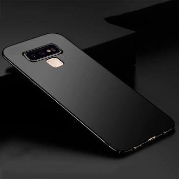 Ультратонкий черный чехол Silk Touch для Samsung Galaxy Note 9