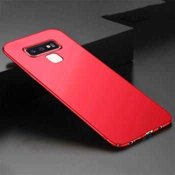 Ультратонкий красный чехол Silk Touch для Samsung Galaxy Note 9