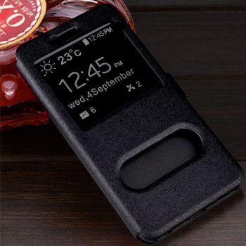 Черный чехол книжка Illuminate для Samsung Galaxy Note 10 Plus