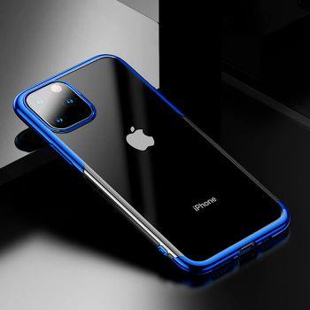 Яркий чехол бампер Golden для iPhone 11 Pro синий
