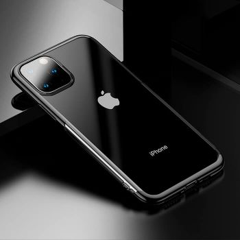 Яркий чехол бампер Golden для iPhone 11 черный