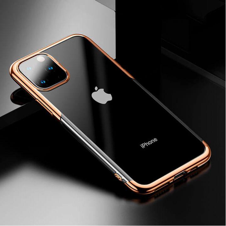 Яркий чехол бампер Golden для iPhone 11 Pro Max