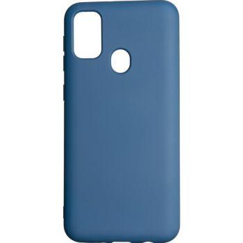 Оригинальный чехол полного обхвата Full Soft для Samsung M215 (M21) Blue