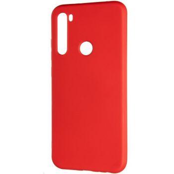 Оригинальный чехол полного обхвата Full Soft для Xiaomi Redmi Note 8 Pro Red