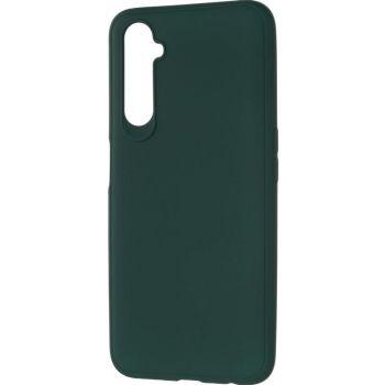 Оригинальный чехол полного обхвата Full Soft для Huawei P40 Lite Dark Green