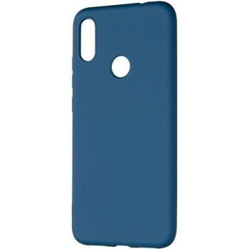 Оригинальный чехол полного обхвата Full Soft для Xiaomi Redmi Note 7 Blue