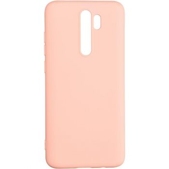 Оригинальный чехол полного обхвата Full Soft для Xiaomi Redmi 9 Pink
