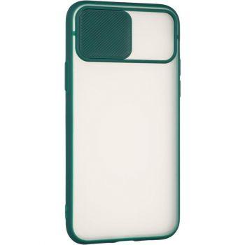 Защитная накладка с закрытой камерой для iPhone 12 Pro зеленый