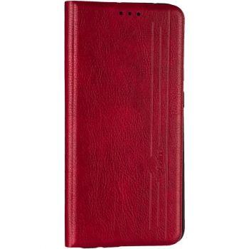 Кожаная книжка Cover Leather от Gelius для Xiaomi Mi 10t красный