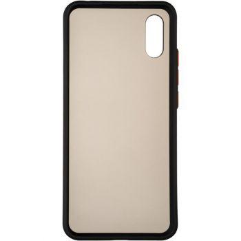 Защитный матовый чехол Yoho для Samsung A013 (A01 Core) черный