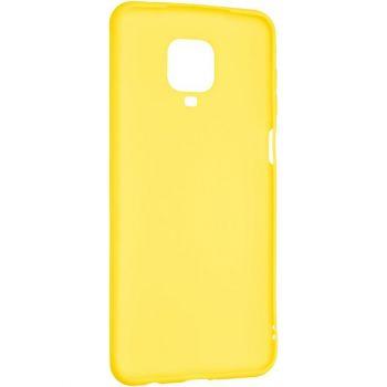 Желтый оригинальный чехол от Floveme для Xiaomi Redmi Note 9s