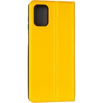 Кожаная книжка Cover Leather от Gelius для Samsung A013 (A01 Core) желтый