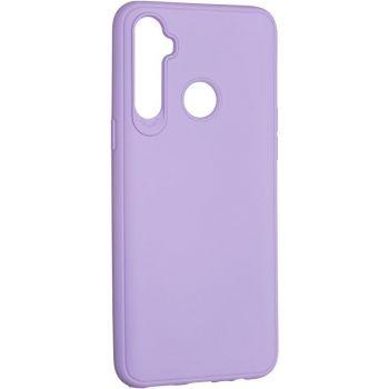 Оригинальный чехол полного обхвата Full Soft для Realme 5 Violet