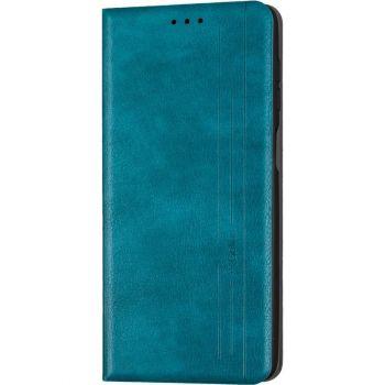 Кожаная книжка Cover Leather от Gelius для Xiaomi Redmi 9 зеленый