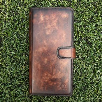 Эксклюзивный чехол ручной работы Marmure для Huawei Y8P от Jitnik, коричневый