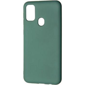 Оригинальный чехол полного обхвата Full Soft для Samsung M215 (M21) Green