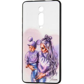 Накладка с девушкой (принт №1) от Floveme для Samsung M215 (M21)