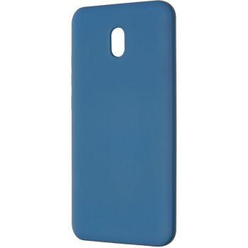 Оригинальный чехол полного обхвата Full Soft для Xiaomi Redmi 8a Blue