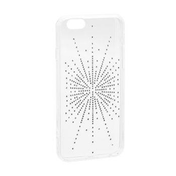 "Cиликоновая накладка с камушками ""Сияние"" от Younicou для Samsung A405 (A40)"