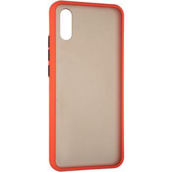 Защитный матовый чехол Yoho для iPhone 12 Mini красный