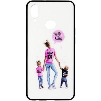 Накладка с девушкой (принт №7) от Floveme для Xiaomi Redmi Note 8t