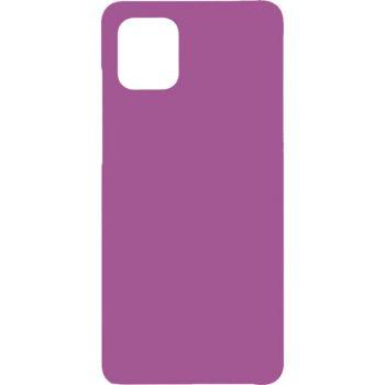 Чехол Original 99% Soft Matte фиолетовый от Flovemу для Xiaomi Redmi Note 9 Pro Max