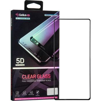 Защитное стекло Gelius Pro 5D Clear Glass for Samsung N980 (Note 20) Black