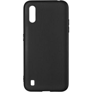 Черный оригинальный чехол от Floveme для Samsung A015 (A01)