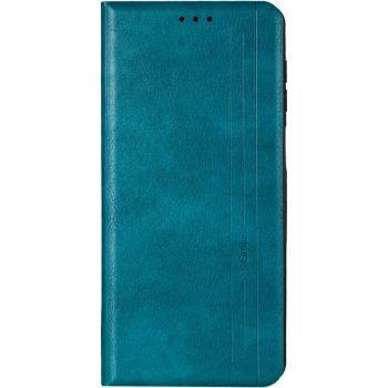 Кожаная книжка Cover Leather от Gelius для Xiaomi Mi 10 Ultra зеленый