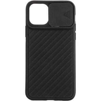 Защитный чехол Slide Camera от AirCase для iPhone 12 черный