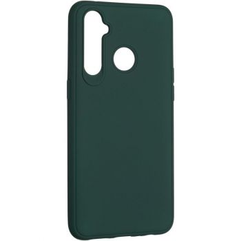 Оригинальный чехол полного обхвата Full Soft для Realme 5 Pro Dark Green