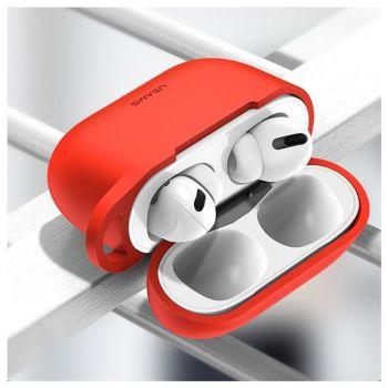 Красный силиконовый защитный чехол от Usams для AirPods Pro (US-BH568)