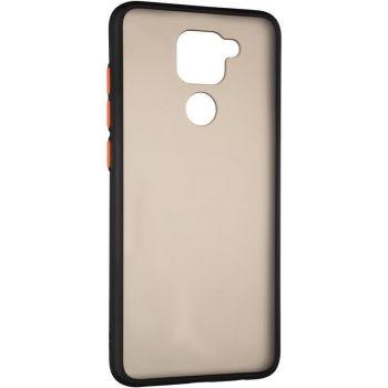 Защитный матовый чехол Yoho для Xiaomi Redmi Note 9 черный