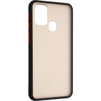 Защитный матовый чехол Yoho для Samsung M315 (M31) черный