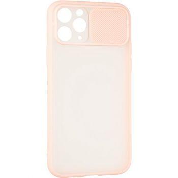 Защитная накладка с закрытой камерой для iPhone 12 Pro розовый