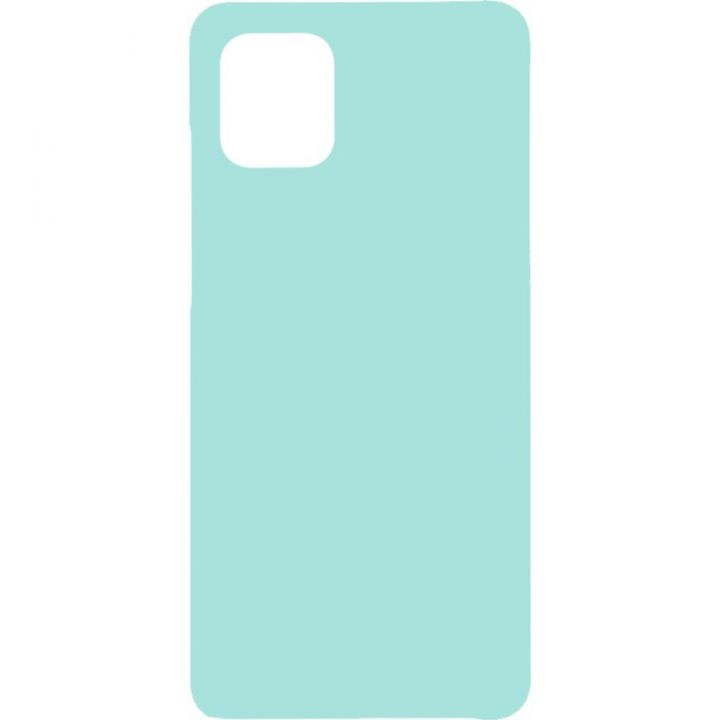 Чехол Original 99% Soft Matte голубой от Flovemу для Xiaomi Redmi Note 9 Pro Max
