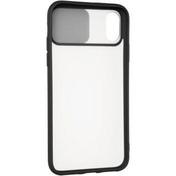 Защитная накладка с закрытой камерой для iPhone 12 Mini черный