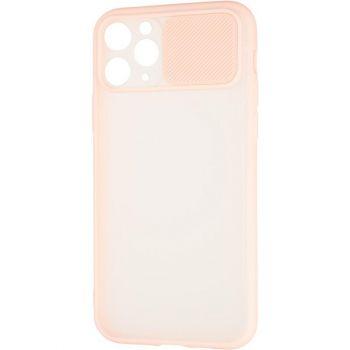 Защитная накладка с закрытой камерой для iPhone 12 Mini розовый