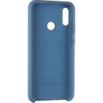 Оригинальный синий чехол Soft Case для Huawei Y9 (2019)