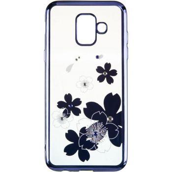 Чехол с кристаллами Breathe от Beckberg для Samsung M305 (M30) с цветами