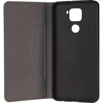 Кожаная книжка Cover Leather от Gelius для Xiaomi Mi 10t синий