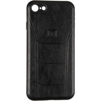 Чехол с текстурой под кожу Prime для Samsung M105(M10) черный