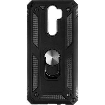 Противоударный черный чехол Defence с кольцом от Honor для Xiaomi Redmi Note 8 Pro