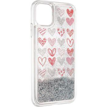Чехол с жидкостью Hearts от Aspor для Samsung M315 (M31)