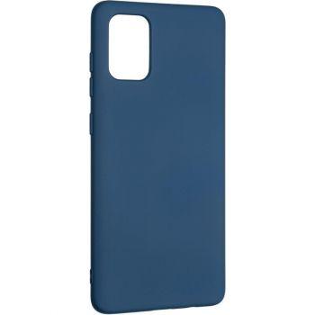 Оригинальный чехол полного обхвата Full Soft для Samsung A715 (A71) Blue