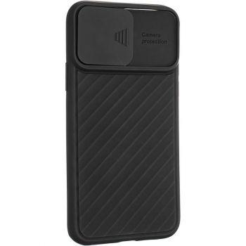 Защитный чехол Slide Camera от AirCase для Samsung A015 (A01) черный