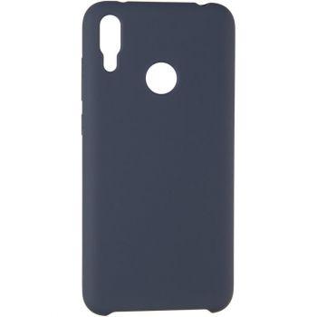Чехол Original 99% Soft Matte от Floveme для Huawei Y7 (2019) темно-синий