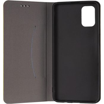 Кожаная книжка Cover Leather от Gelius для Samsung M515 (M51) желтый